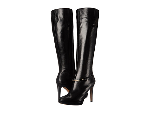 Nine West - Pearson (Black Leather) Women