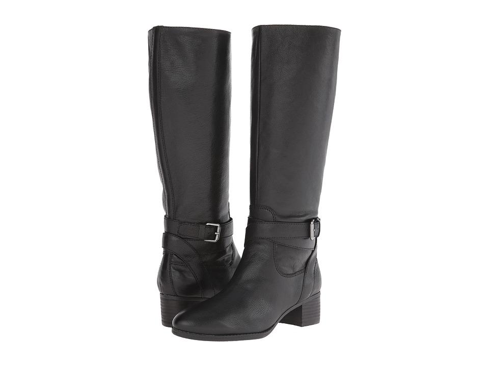 Nine West - Vani (Black Leather) Women