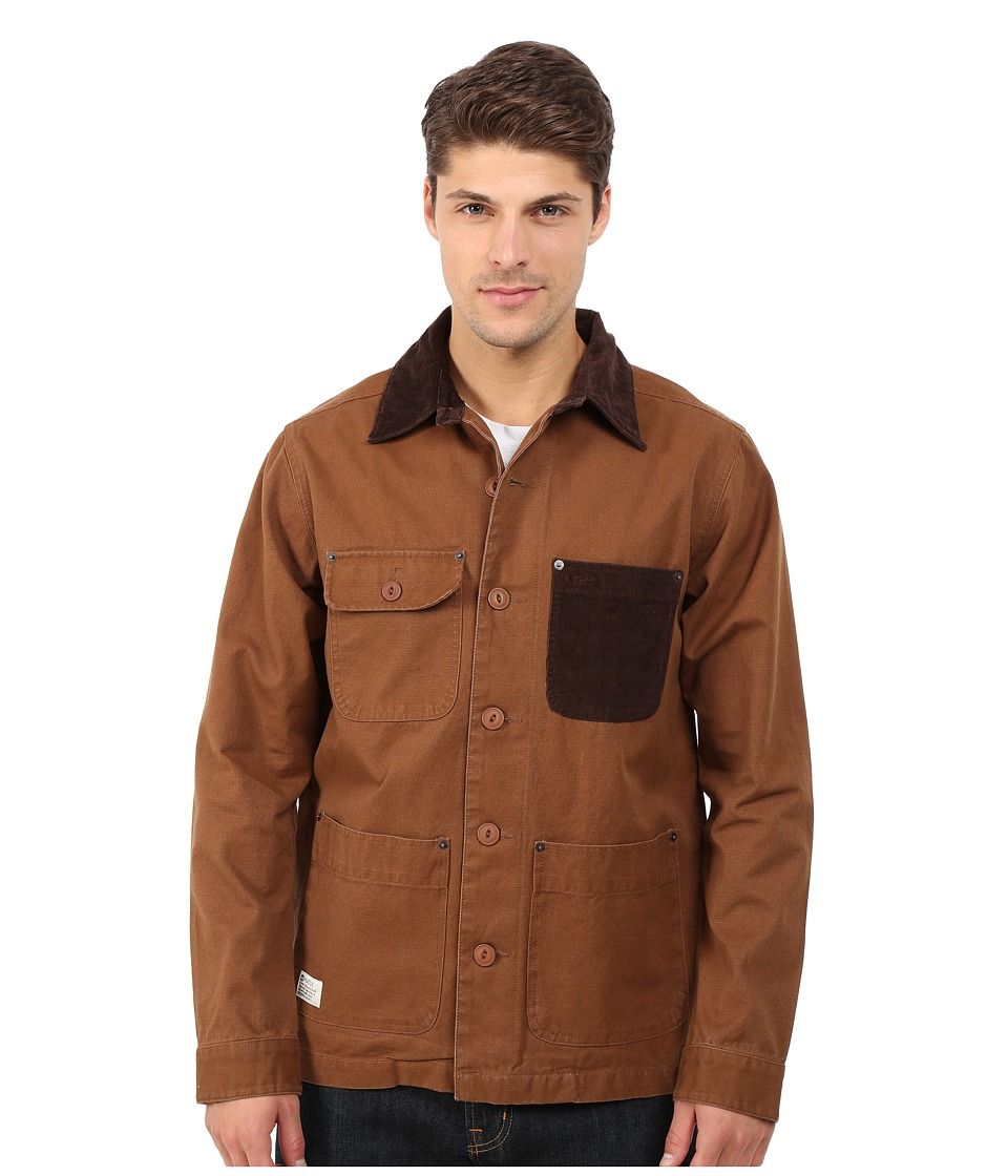 Matix Clothing Company - Mortar Jacket (Caramel) Men's Jacket