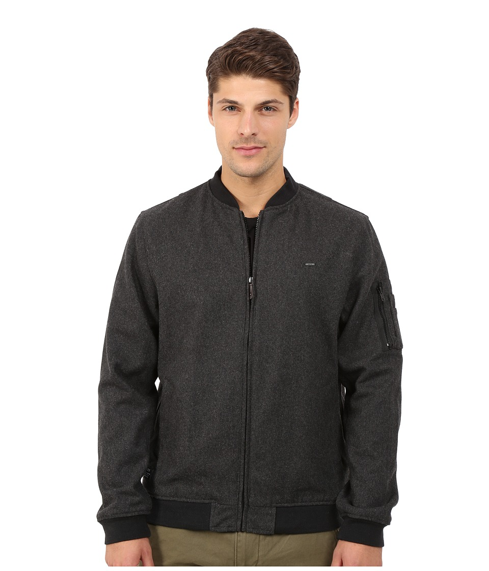 Matix Clothing Company - Mase Bomber Jacket (Charcoal) Men's Coat