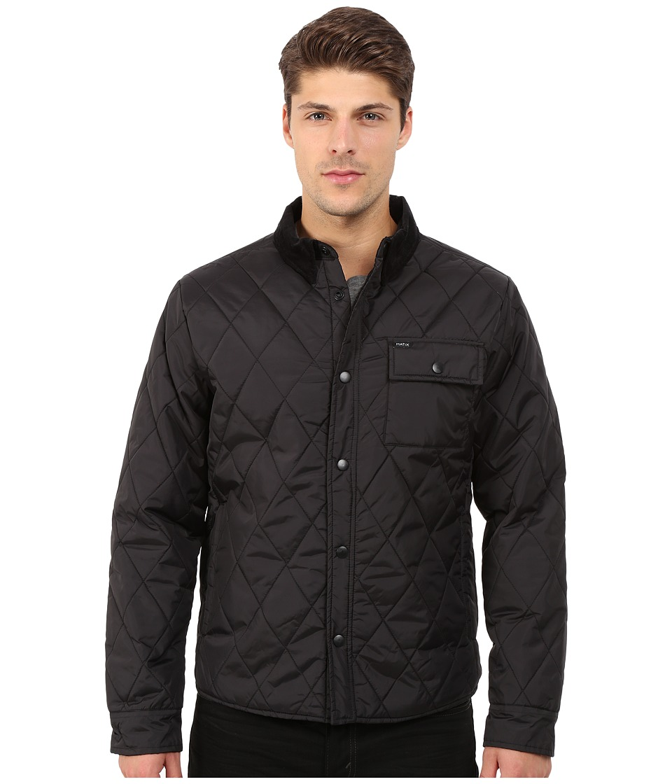 Matix Clothing Company - Pacific Quilt Jacket (Black) Men's Coat