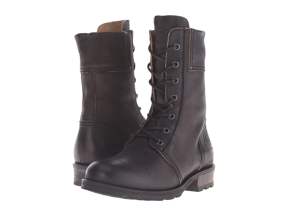 PLDM - Uprise (Black) Women's Lace-up Boots