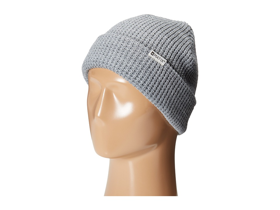 Matix Clothing Company - Nightshift Beanie (Heather Grey) Beanies