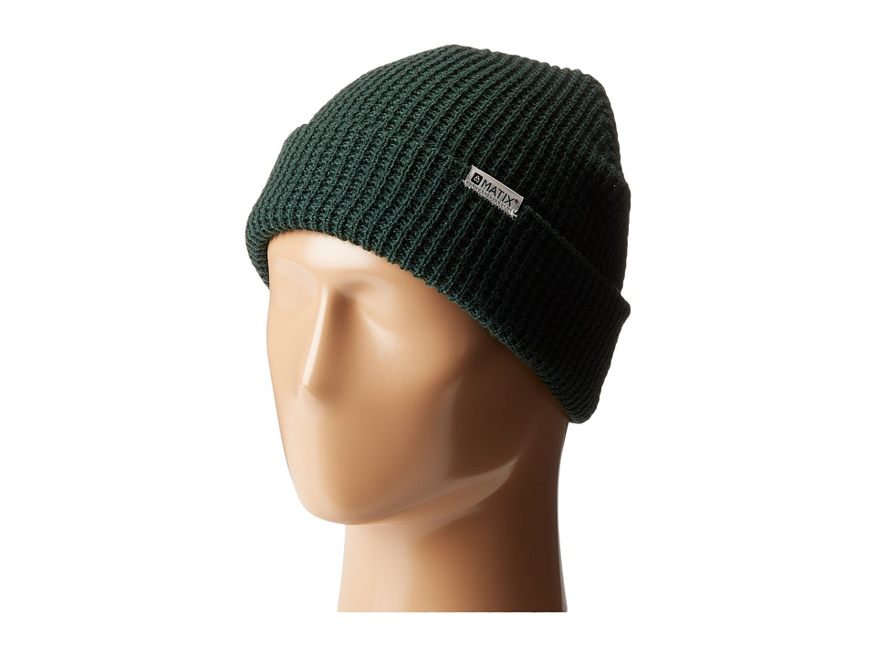 Matix Clothing Company - Nightshift Beanie (Hunter Green) Beanies
