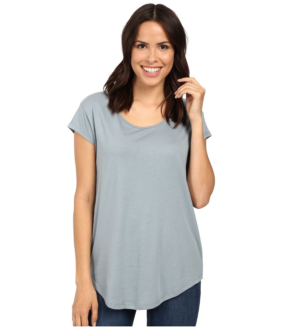 Alternative - Cotton Modal Origin Tee (Blue Fog) Women's T Shirt