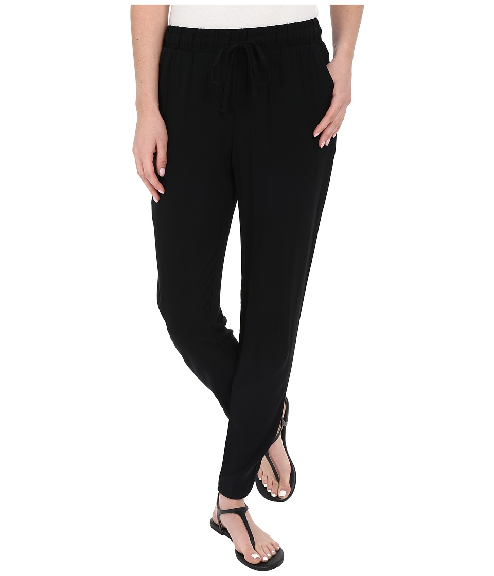Alternative - Rayon Challis Renovated Pants (Black) Women's Casual Pants