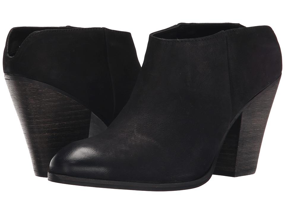 Steve Madden - Hilltop (Black Nubuck) High Heels