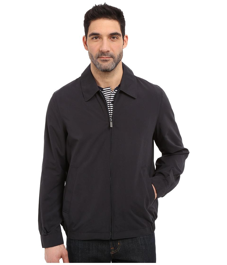 Perry Ellis - Microfiber Golf Jacket (Dark Navy) Men's Coat