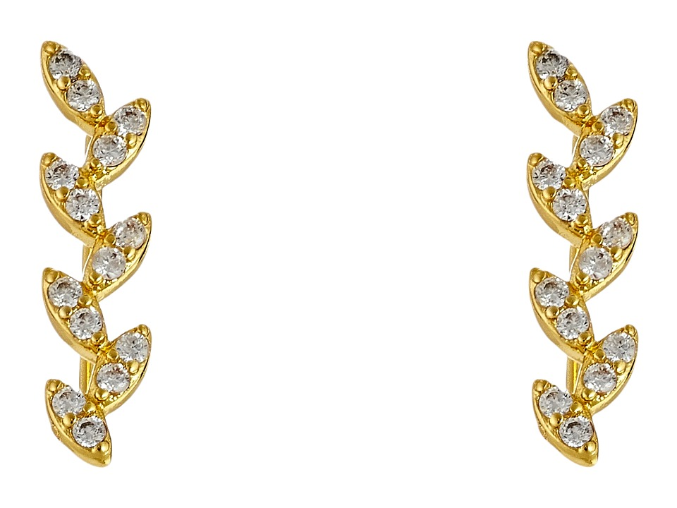 gorjana - Olympia Shimmer Ear Climbers (Gold) Earring