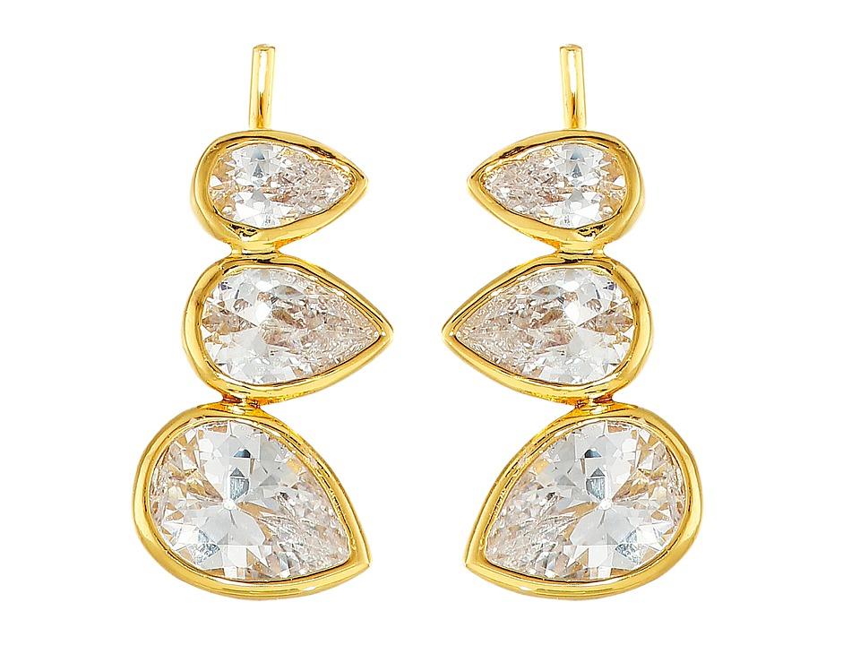 gorjana - Kelsi Ear Climbers (Gold) Earring