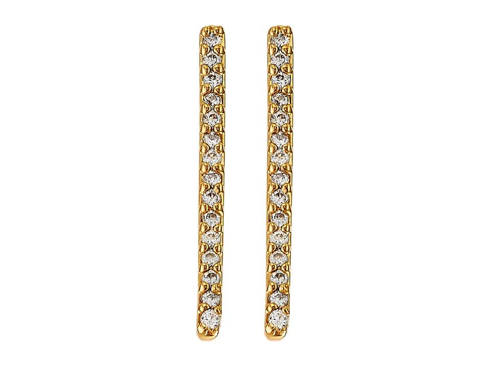 gorjana - Petra Shimmer Ear Climbers (Gold) Earring