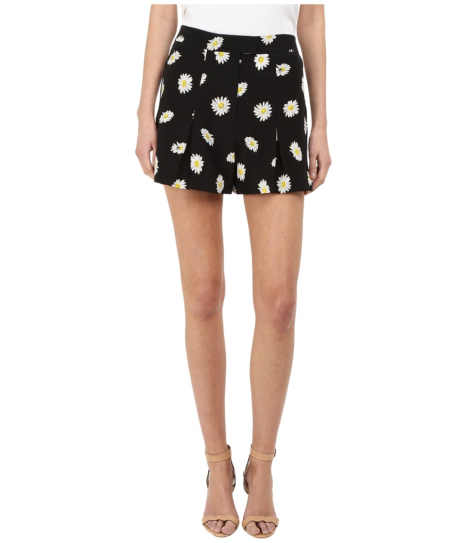 Kate Spade New York - Daisy Dot Silk Shorts (Black) Women's Shorts