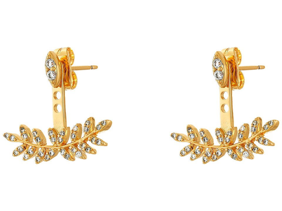 gorjana - Olympia Shimmer Ear Jacket (Gold) Earring