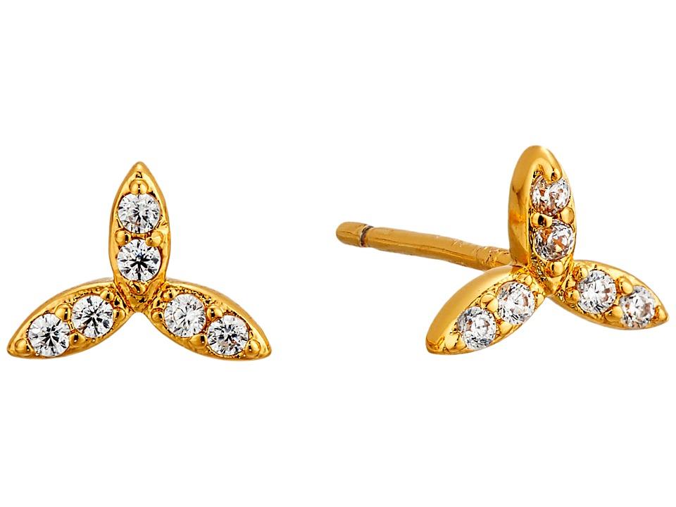 gorjana - Olympia Shimmer Mini Studs (Gold) Earring