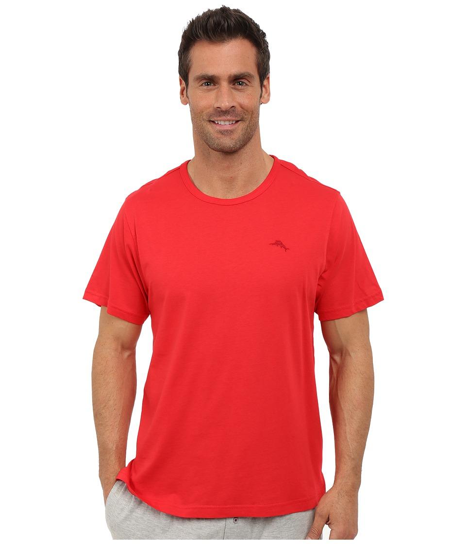 Tommy Bahama Basic Short Sleeve T-Shirt (Cherry) Men