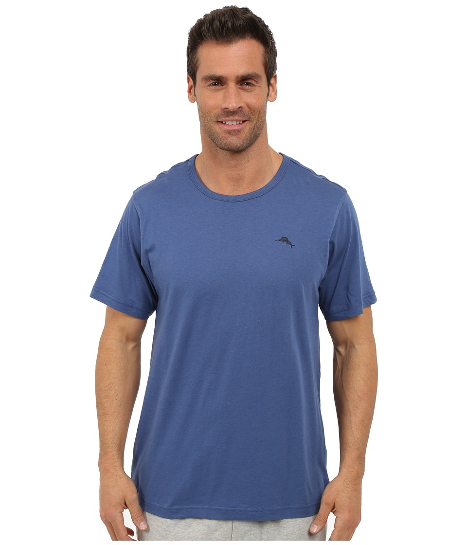 Tommy Bahama - Basic Short Sleeve T-Shirt (Navy) Men