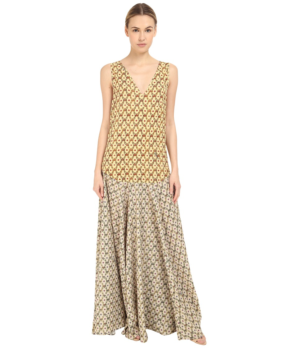 Just Cavalli Printed Maxi Dress