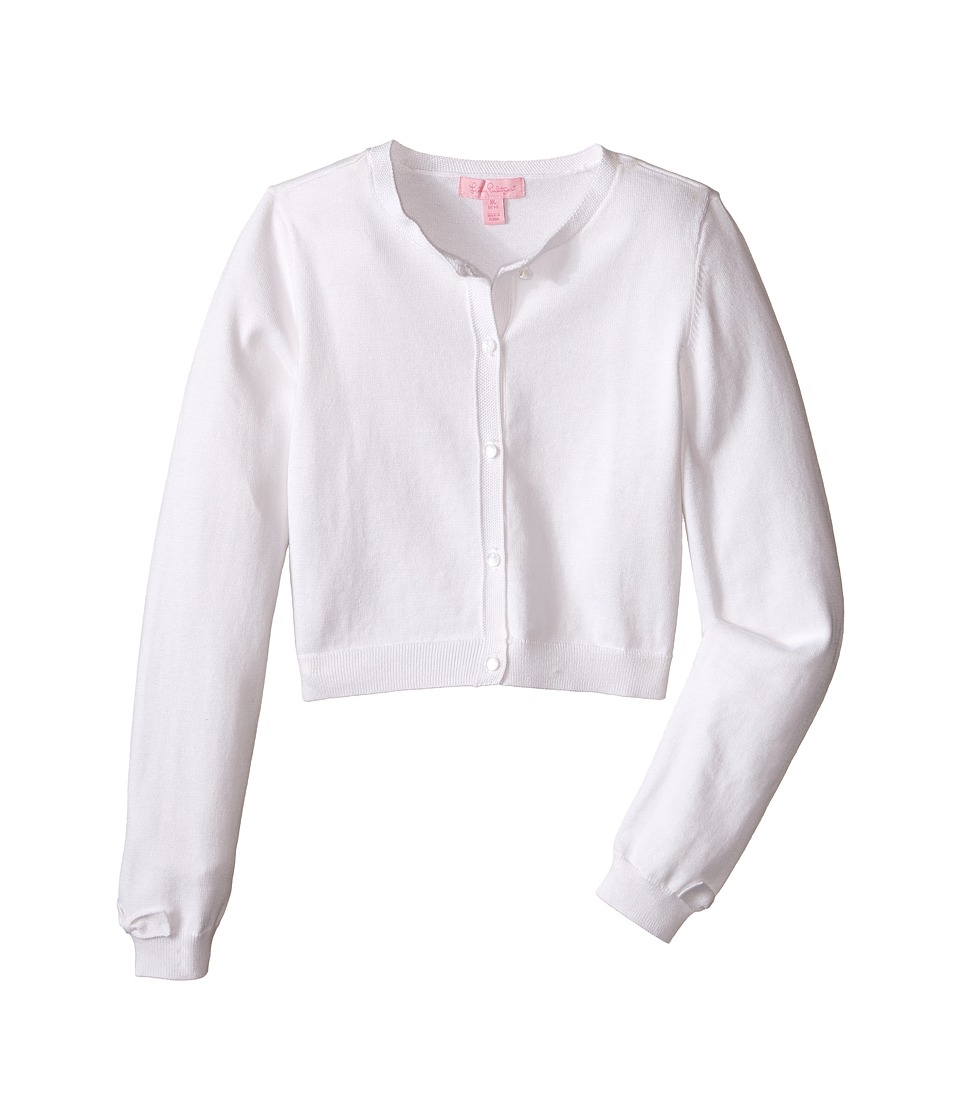 Lilly Pulitzer Kids - Colleen Cardigan (Toddler/Little Kids/Big Kids) (Resort White) Girl's Sweater