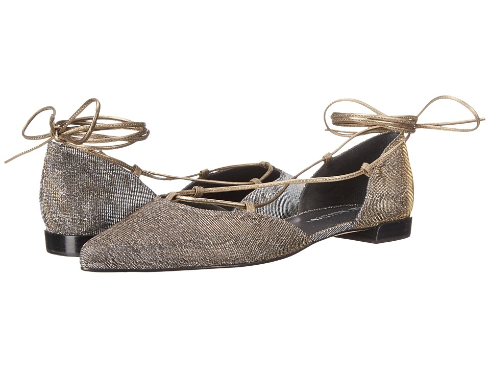 Stuart Weitzman Bridal & Evening Collection - Gilligan (Pyrite Nocturn) Women's Dress Flat Shoes