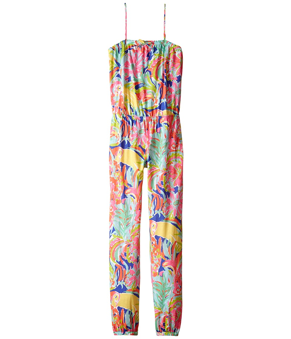 Lilly Pulitzer Kids - Korra Jumpsuit (Toddler/Little Kids/Big Kids) (Multi Casa Banana) Girl's Jumpsuit & Rompers One Piece