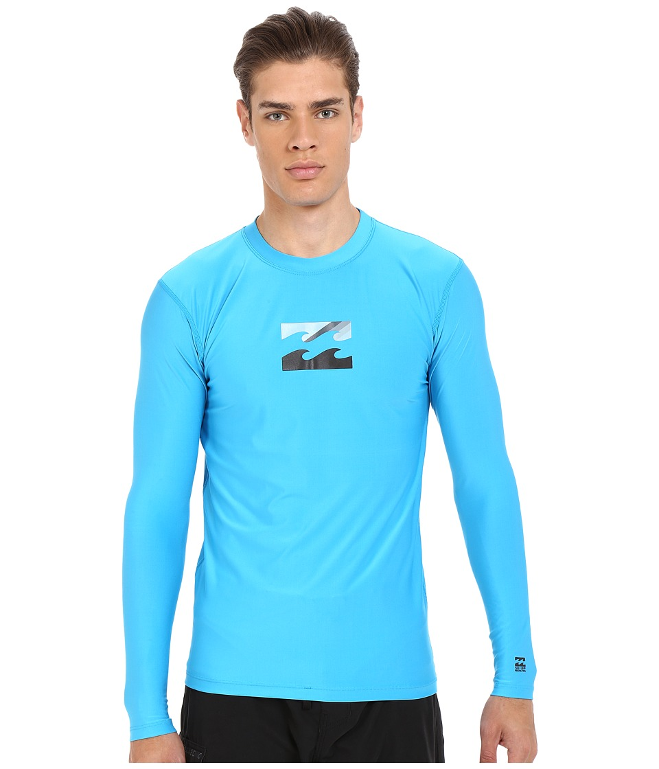 Billabong - Chronicle Long Sleeve Rashguard (New Blue) Men's Swimwear