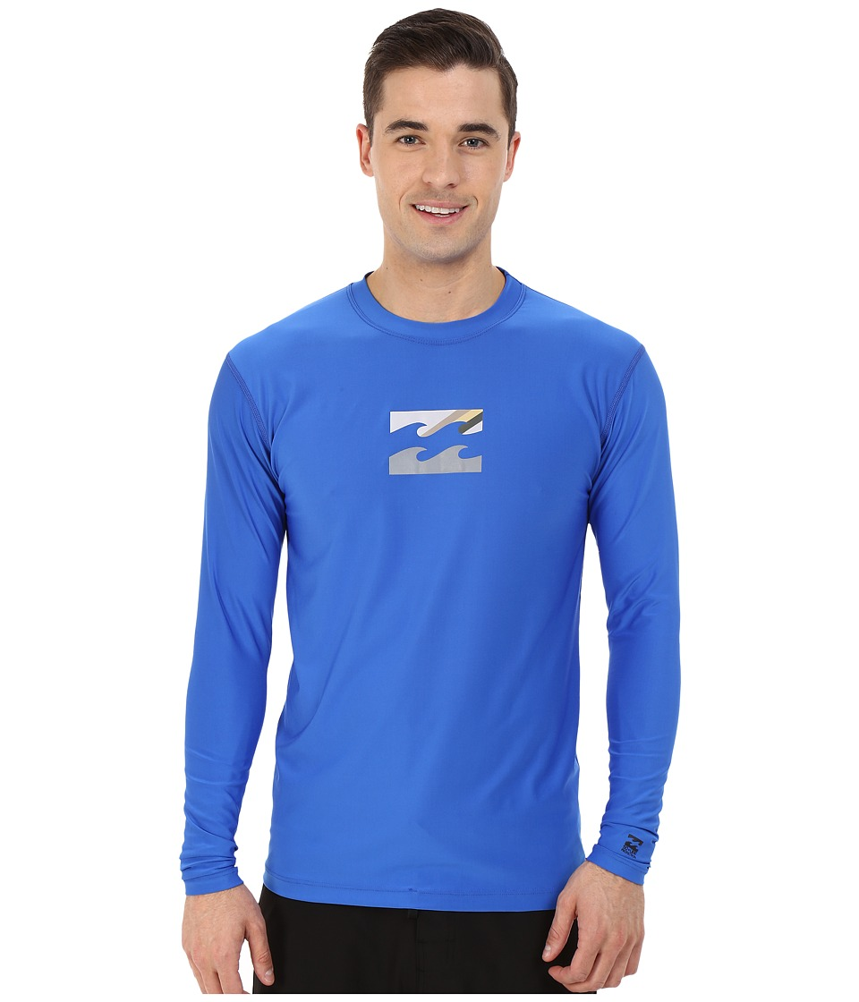 Billabong - Chronicle Long Sleeve Rashguard (Royal) Men's Swimwear