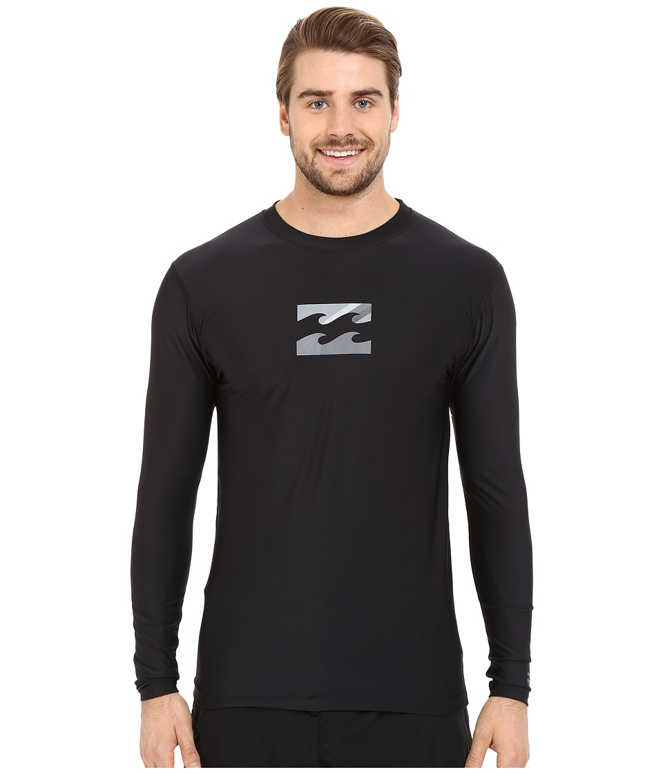 Billabong - Chronicle Long Sleeve Rashguard (Black) Men's Swimwear