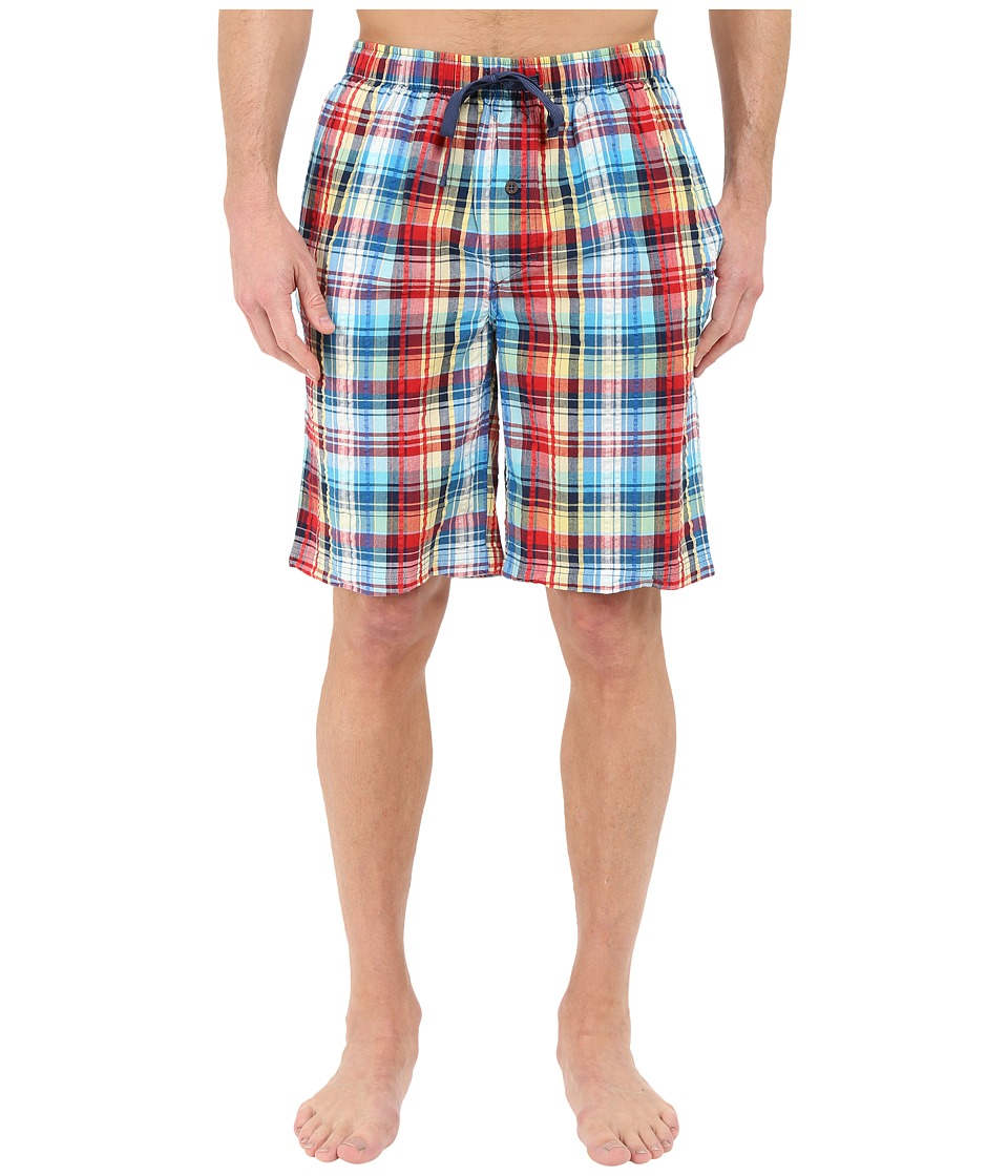 Tommy Bahama - Seersucker Woven Yarn Dye Plaid Shorts (Plaid Multi) Men's Pajama