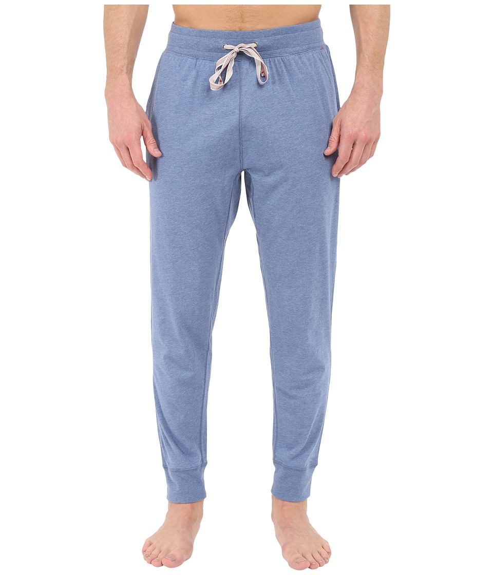 Tommy Bahama - Knit Jogger Pants (Blue Heather) Men's Pajama