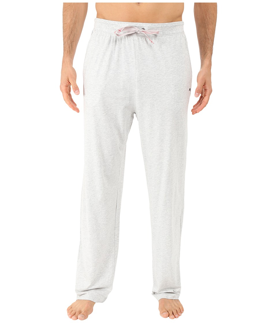 Tommy Bahama - Cotton Modal Knit Pants (Heather Grey) Men's Pajama