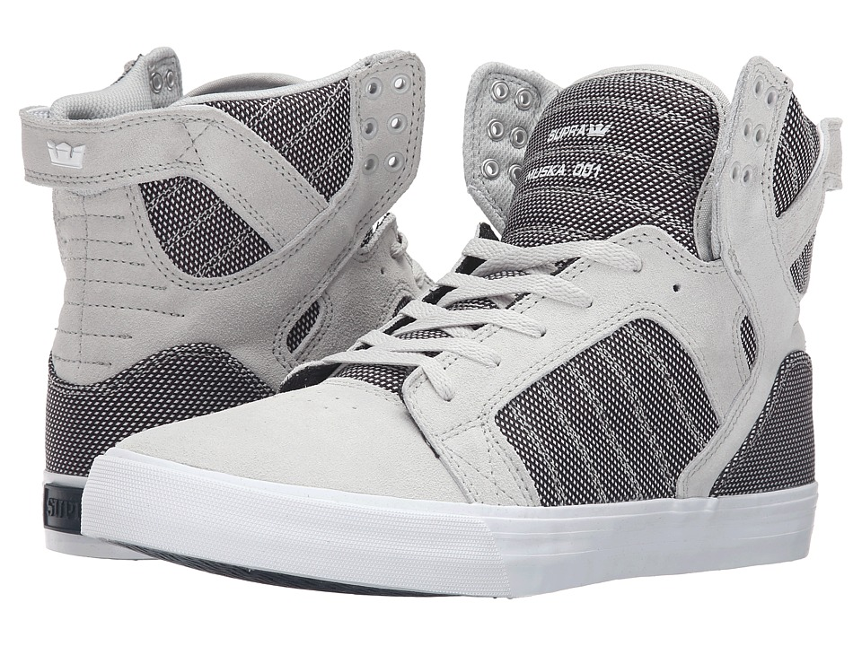 Supra - Skytop (Grey Violet Two-Tone/White) Men's Skate Shoes
