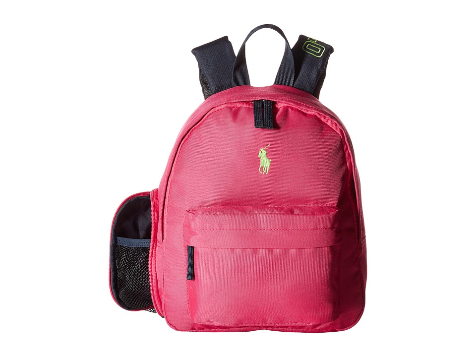 Polo Ralph Lauren Kids - East Hampton Backpack (Fuchsia/Navy/Lime Pop 1) Backpack Bags