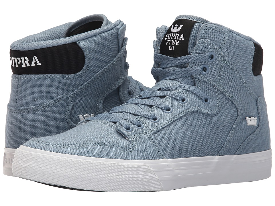 Supra - Vaider (Slate/Black/White) Skate Shoes