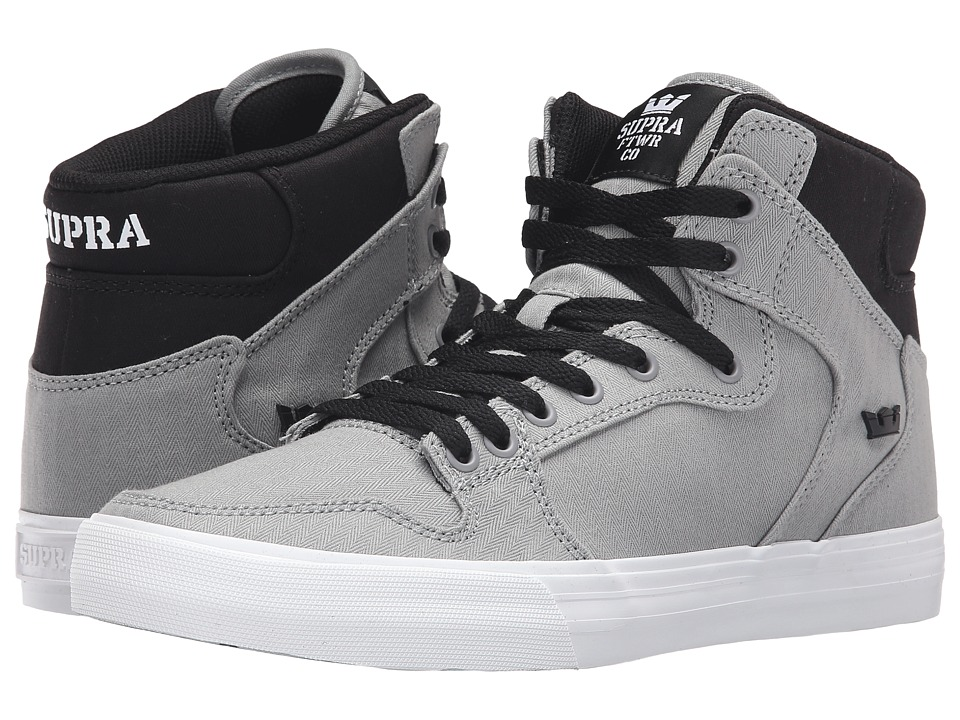 Supra - Vaider (Grey/Black/White) Skate Shoes