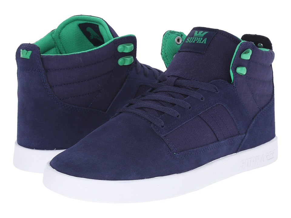 Supra - Bandit (Navy/White) Men's Skate Shoes