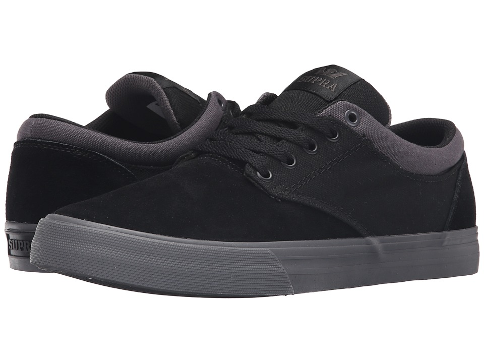 Supra - Chino (Black/Magnet) Men's Skate Shoes