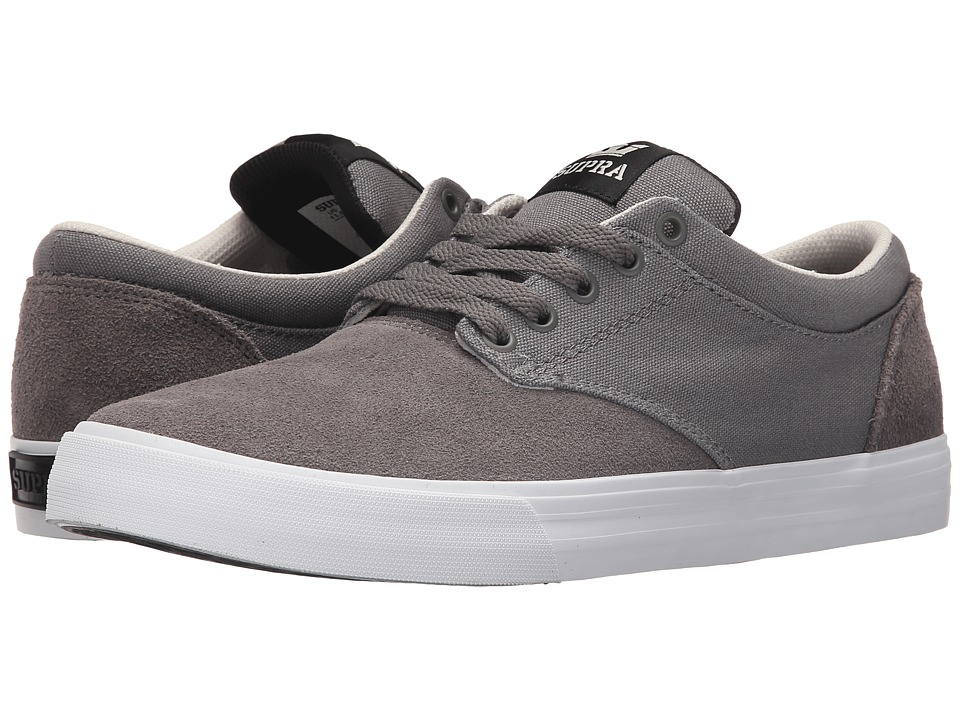 Supra - Chino (Magnet/White) Men's Skate Shoes