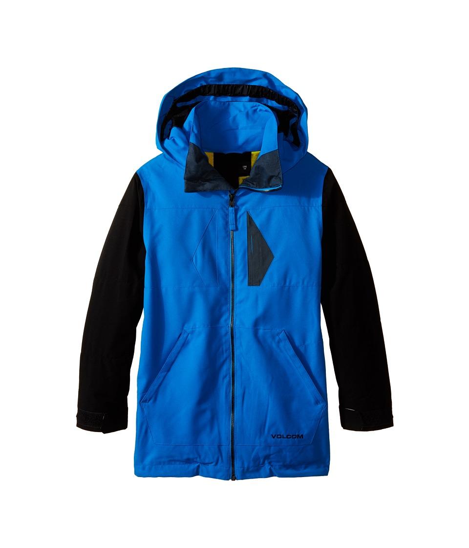 Volcom Kids Watson Jacket (Little Kids/Big Kids) (Cyan) Boy