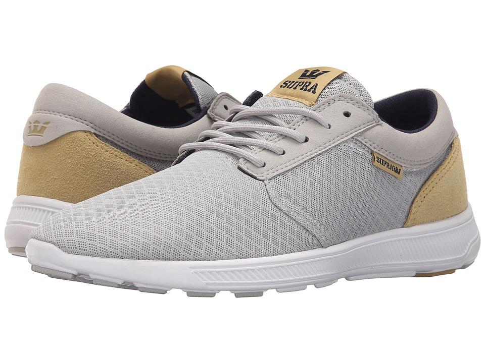 Supra - Hammer Run (Grey Violet/Hemp/White) Men's Skate Shoes