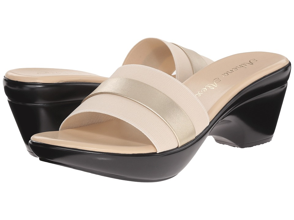 Athena Alexander Womens Honeyk Champagne - Sandals