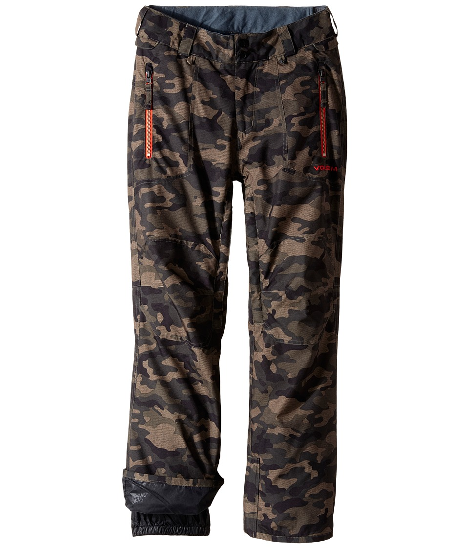 Volcom Kids - Datura Pants (Little Kids/Big Kids) (Army Green Combo) Boy