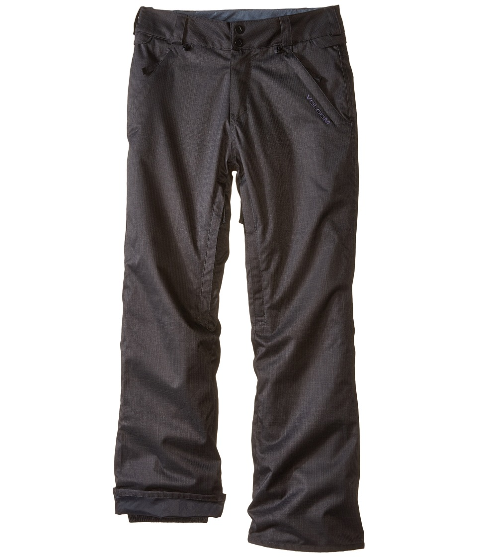 Volcom Kids - Frickin Insulated Chino (Little Kids/Big Kids) (Black) Boy's Casual Pants