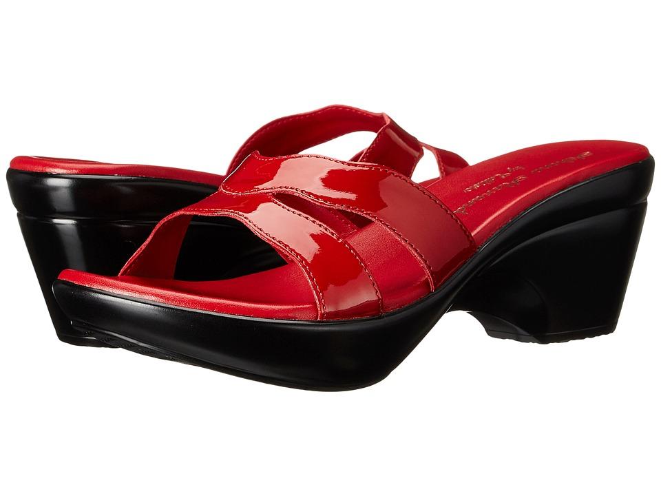 Athena Alexander Linden Red Womens Sandals