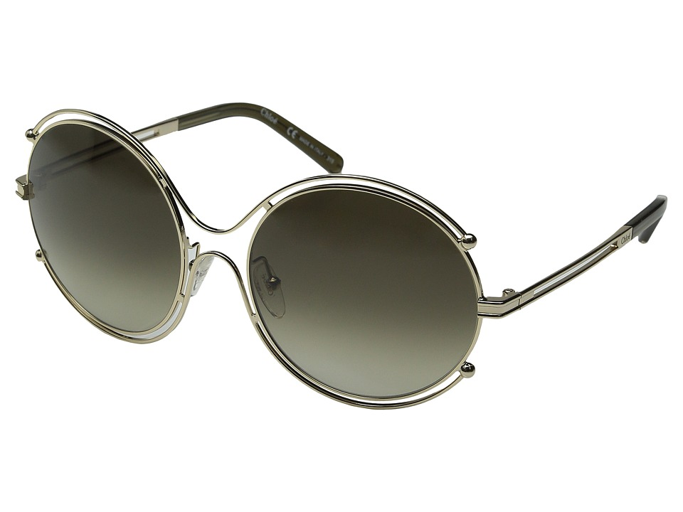 Chloe - Isidora - CE122SL (Gold/Khaki) Fashion Sunglasses