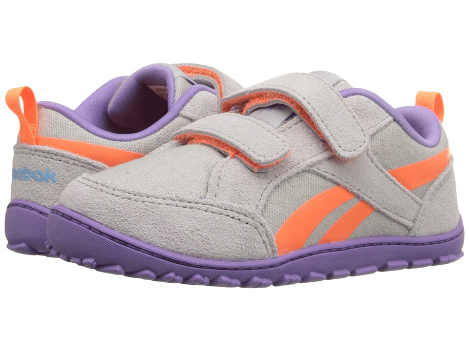 Reebok Kids - Reebok Ventureflex Chase (Infant/Toddler) (Steel/Smoky Violet/Blue Splash/Electric Peach) Girls Shoes