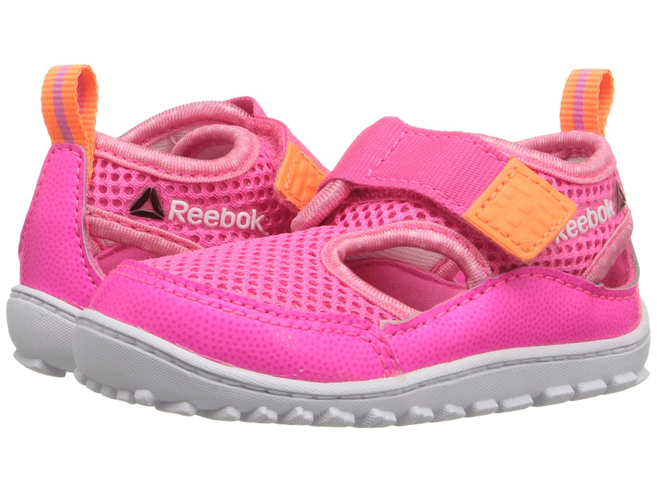 Reebok Kids - Ventureflex Sandal III (Infant/Toddler) (Solar Pink/Electric Peach/Icono Pink/White) Girls Shoes