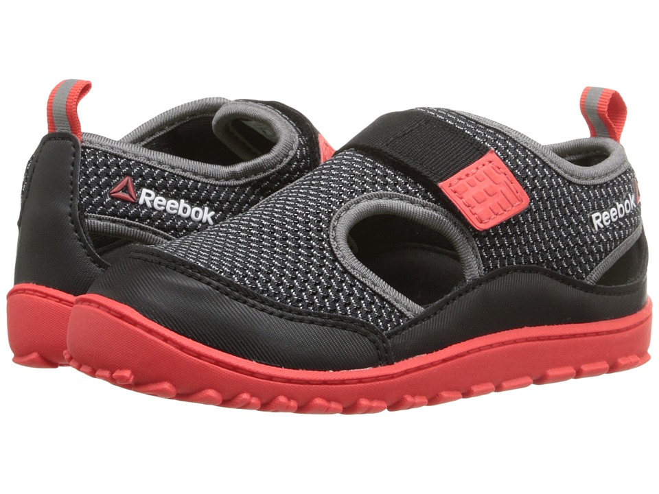 Reebok Kids - Ventureflex Sandal III (Infant/Toddler) (Black/Laser Red/Shark/Solar Yellow/White) Boys Shoes