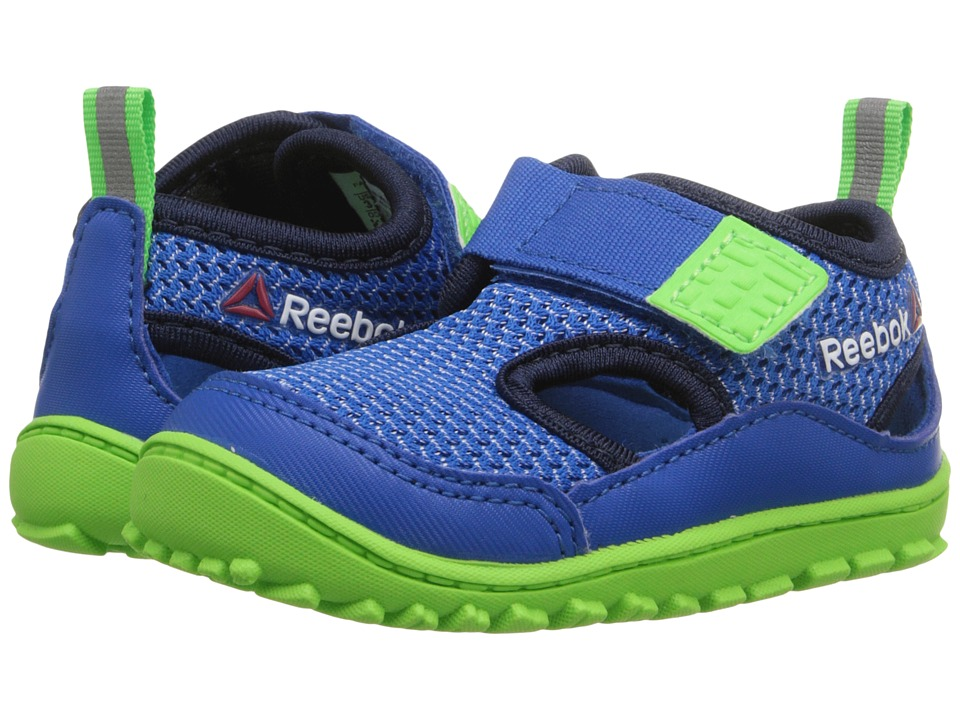 Reebok Kids - Ventureflex Sandal III (Infant/Toddler) (Blue Sport/Faux Indigo/Solar Green/White) Boys Shoes