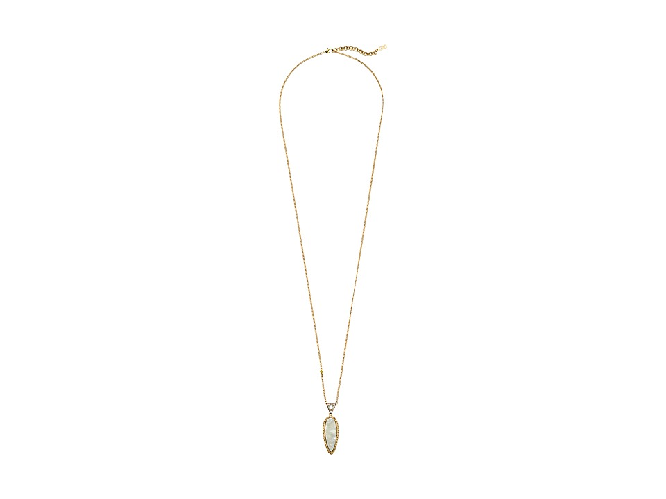 Cole Haan - Mother-of-Pearl Pendant (Gold/Metallic Gold/Mother-of-Pearl) Necklace