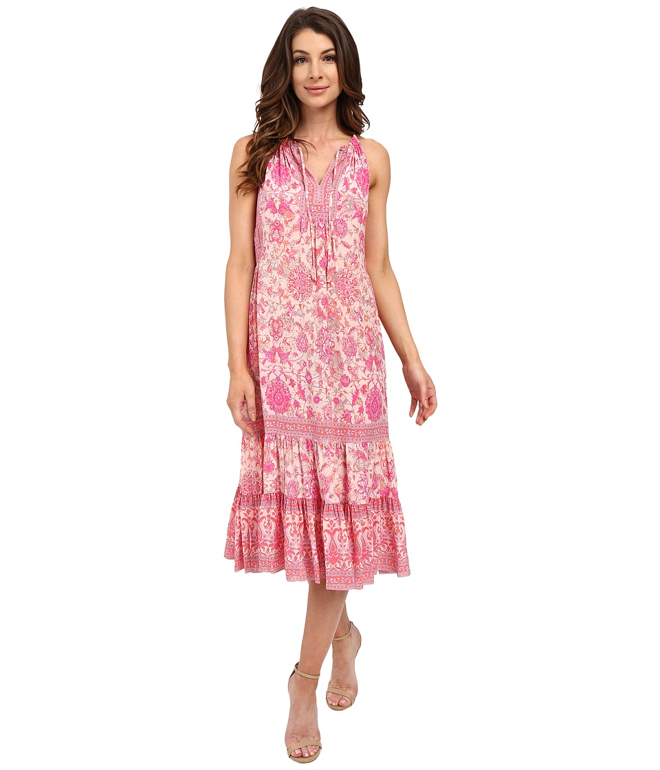 Rebecca Taylor - Sleeveless Dreamweaver Maxi Dress (Powder Pink) Women's Dress